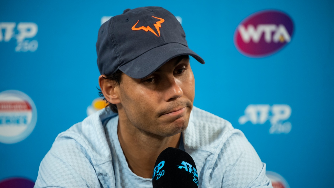 Nadal déclare forfait et n'affrontera pas Tsonga — Brisbane