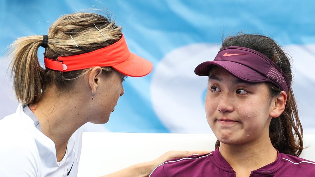 WTA Shenzhen: blessée, Maria Sharapova abandonne en quarts de finale