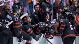 Des joueurs d'Équipe Canada junior déçus de la défaite