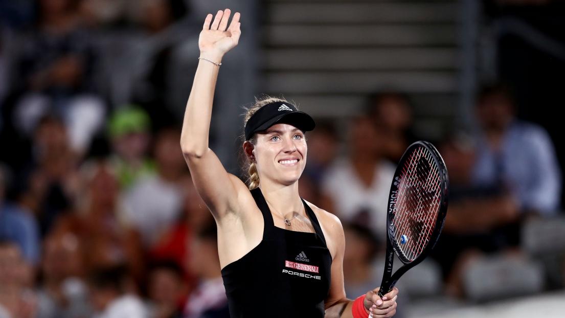 Kerber déchue de son titre par Kvitova - WTA Sydney 2019 - Tennis