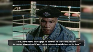 Il était une fois... entrevue colorée de Mike Tyson