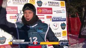 Langevin remporte une première médaille