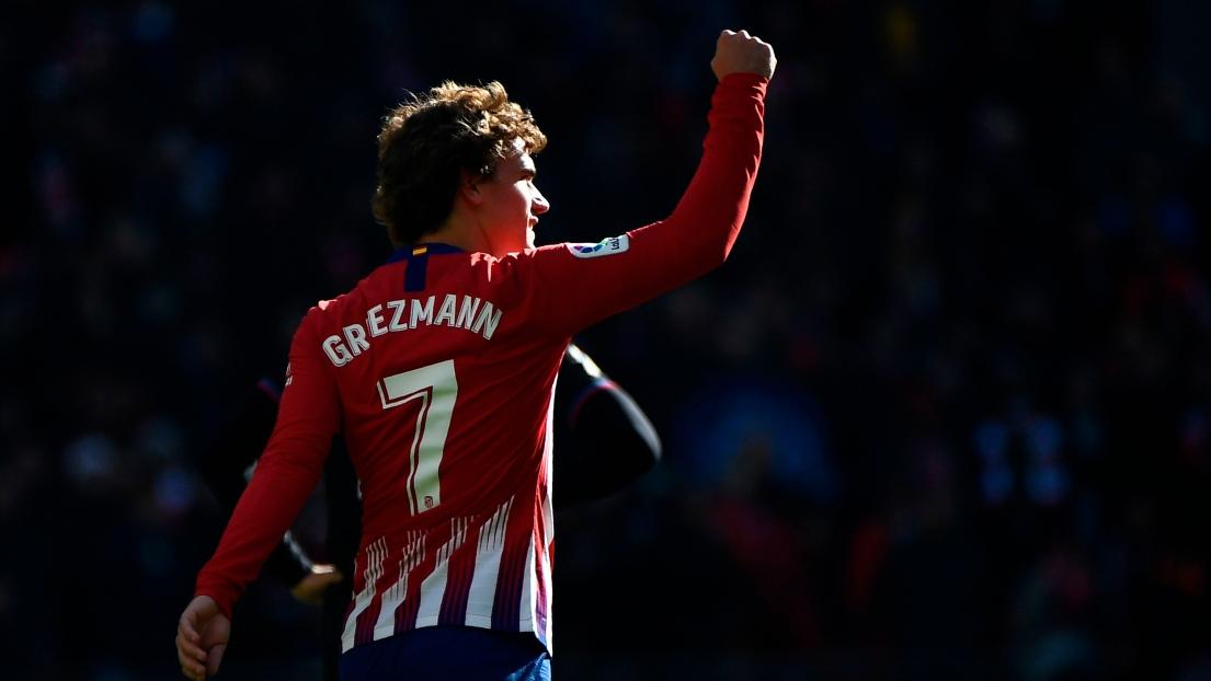 Espagne: Griezmann et l'Atlético enchaînent contre Levante