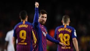 FC Barcelone 3 - Eibar 0