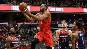 Raptors 140 - Wizards 138 (2e prolongation)