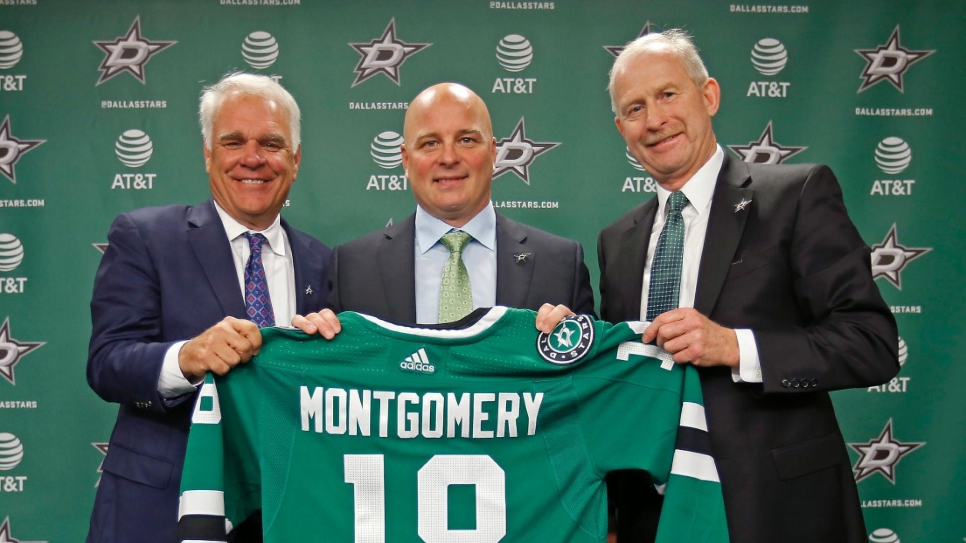 De gauche à droite : Jim Littes, Jim Montgomery et Jim Nill