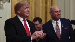 Donald Trump reçoit Clemson à la Maison Blanche