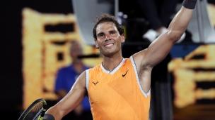 Nadal poursuit tranquillement son retour
