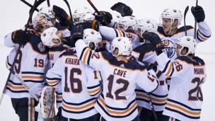 Oilers 3 - Canucks 2 (Tirs de barrage)