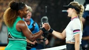 Serena élimine Eugenie