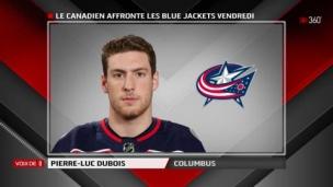 Pierre-Luc Dubois a su éviter la gigne de la deuxième année