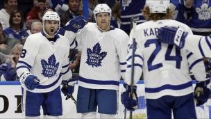 Maple Leafs 4 - Lightning 2