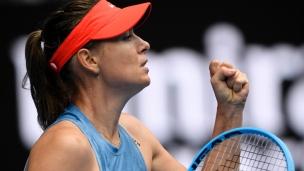 Sharapova a le dessus sur Wozniacki