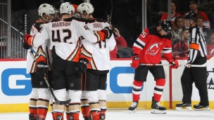 Ducks 3 - Devils 2