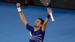 Djokovic se défait de Medvedev