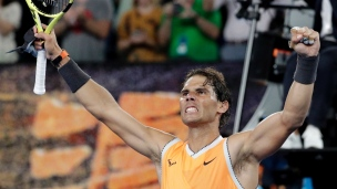 Nadal poursuit sa route en quarts