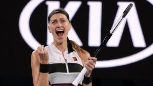 Kvitova retourne en demi-finale