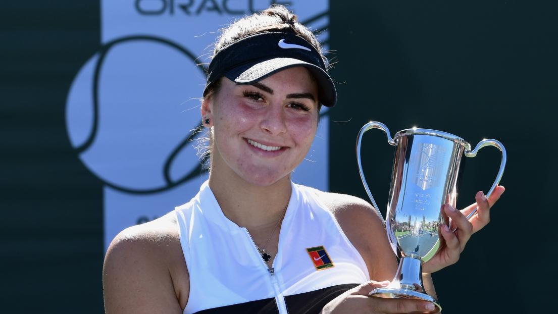 Bianca Andreescu triomphe à Newport Beach