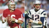 Joe Montana (16), Tom Brady (12)