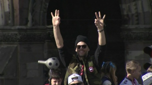Défilé des Patriots à Boston