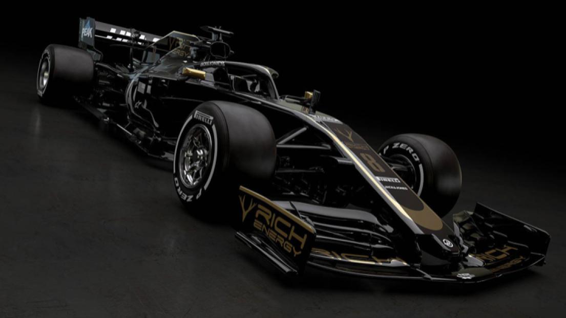 Haas dévoile sa monoplace 2019 !