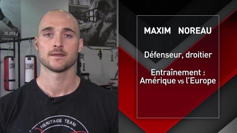 Maxim Noreau : L'entraînement en vieillissant