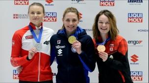 Kim Boutin remporte le bronze