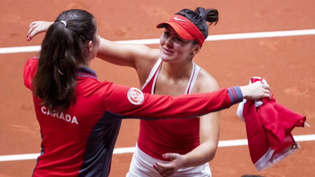 Le Canada bat les Pays-Bas — Fed Cup