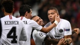 Mbappé célèbre son but face à Manchester United