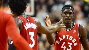 Wizards 120 - Raptors 129