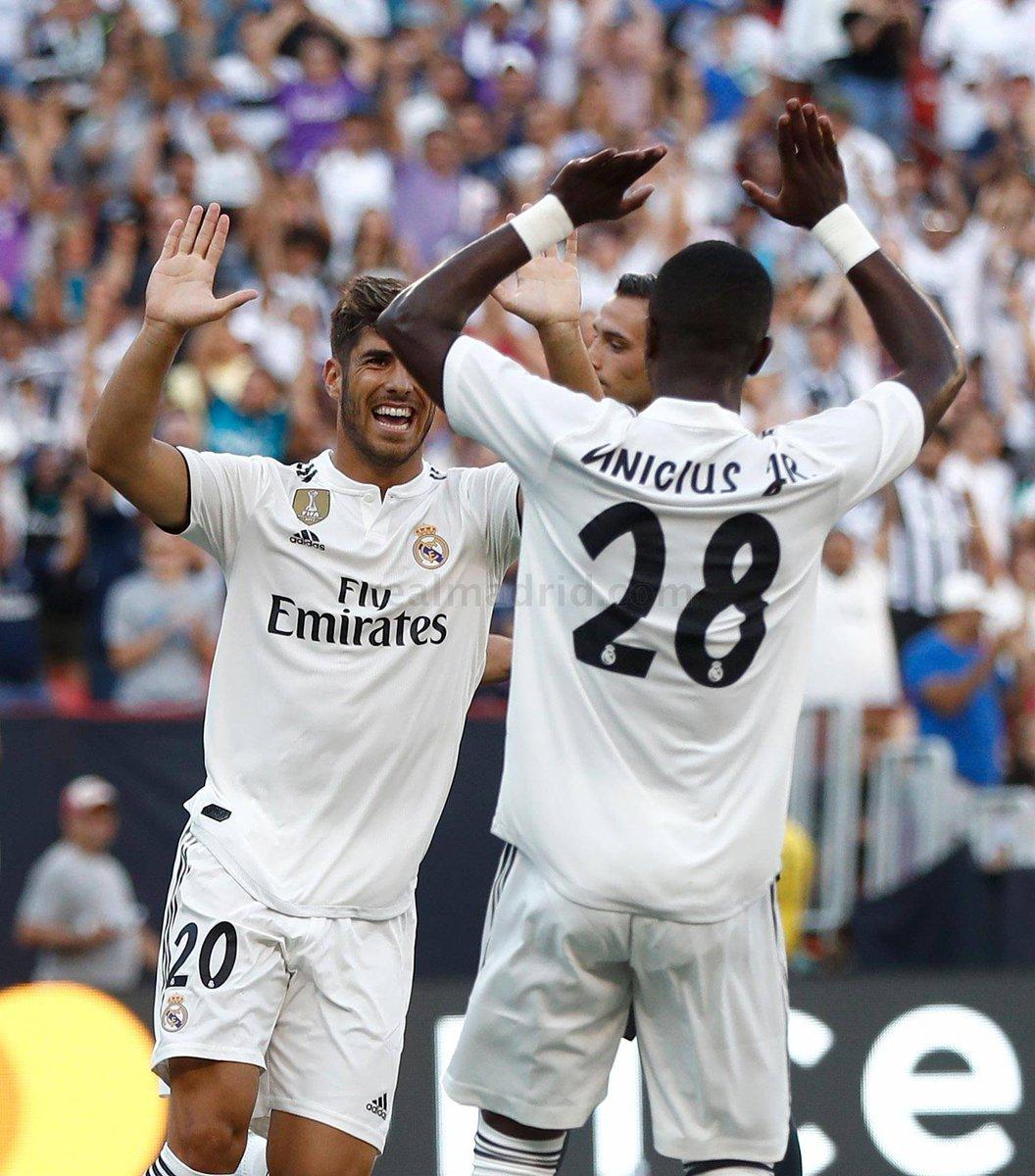 Vinicius Jr et Marco Asensio, les pépites du Real Madrid