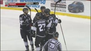 Olympiques 4 - Islanders 3 (prolongation)