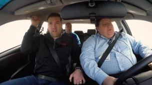 Tour de voiture de sécurité à Daytona