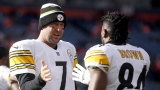 Ben Roethlisberger et Antonio Brown