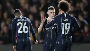 Newport County 1 - Manchester City 4