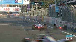 Une fin de course complètement folle en Formule électrique