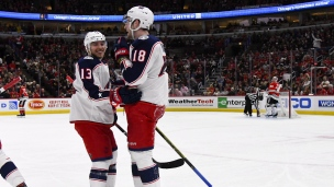 Blue Jackets 5 - Blackhawks 2