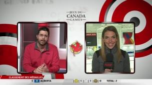 Domination québécoise en ringuette