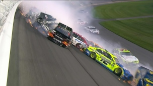 De nombreux accidents au Daytona 500
