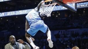 Les meilleurs moments du concours de dunks