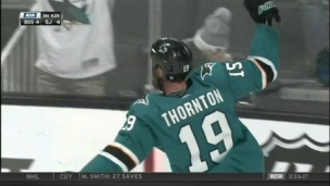 Top 5 - Tours du chapeau de Joe Thornton