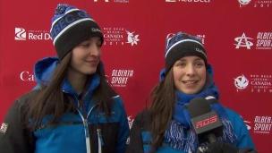 Rien n'arrête les patineurs québécois
