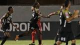 L'Independiente FC célèbre un but inscrit face au Toronto FC