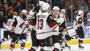 Coyotes 3 - Oilers 2 (Tirs de barrage)