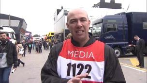 Tour d'horizon des installations des médias en F1
