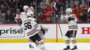 Blackhawks 5 - Red Wings 4 (Prolongation)