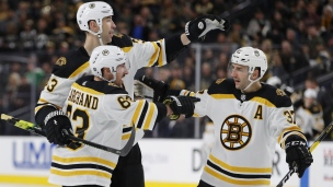Bruins 3 - Golden Knights 2 (Tirs de barrage)