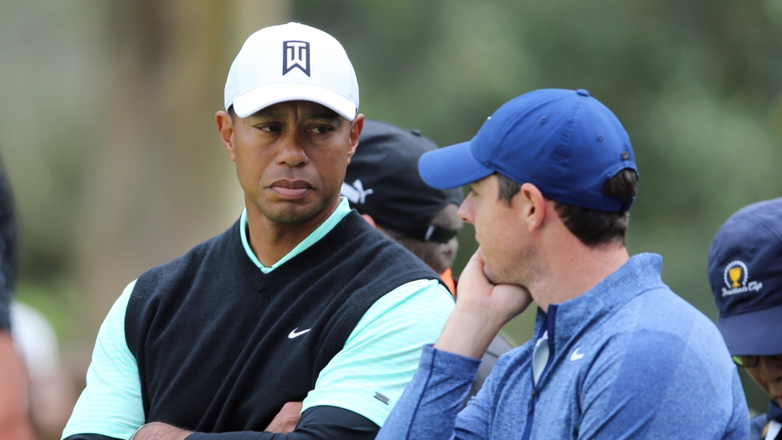 Tiger Woods et Rory McIlroy