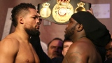 Joe Joyce et Bermane Stiverne