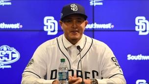 Machado présenté aux médias de San Diego
